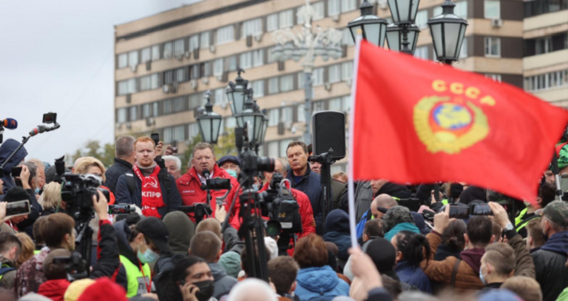 """VIDEO/ Proteste în Rusia împotriva unor fraude """"colosale"""" în alegerile legislative, în timp ce Putin salută o """"victorie convingătoare"""""""