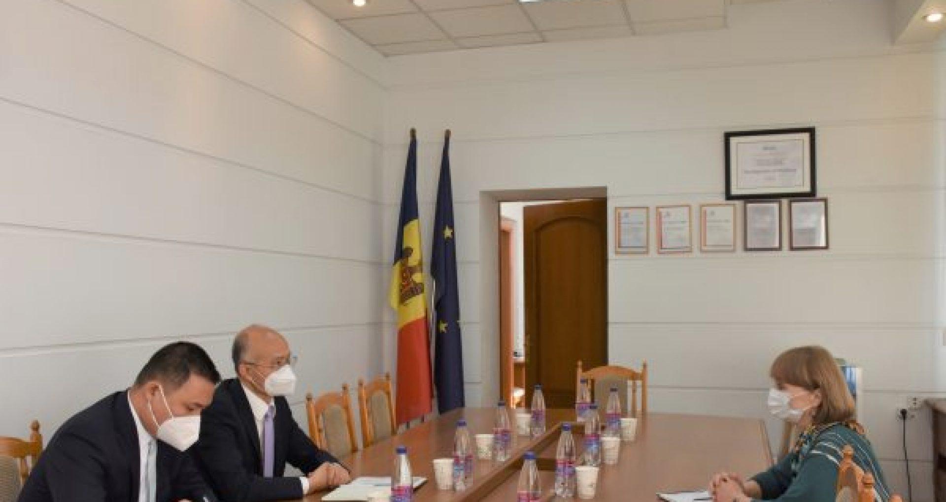 Republica Populară Chineză este gata să ofere sprijin R. Moldova pentru modernizarea instituțiilor medicale spitalicești și dotarea acestora cu echipamente, anunță MS