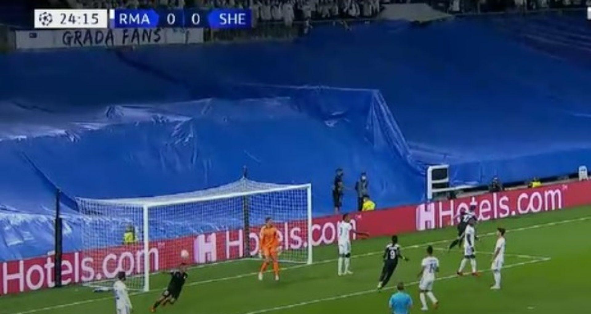 Scor 1 la 1 în meciul dintre Sheriff Tiraspol și Real Madrid, pe Santiago Bernabeu, în a doua etapă a grupelor UEFA Champions League