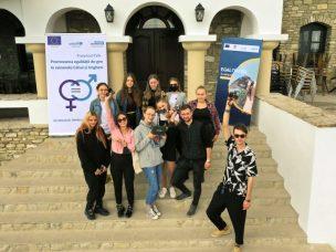 """VIDEO/ Tinerii de la Ungheni, despre egalitatea de gen: """"Aici e vorba de drepturile omului, care trebuie respectate"""""""