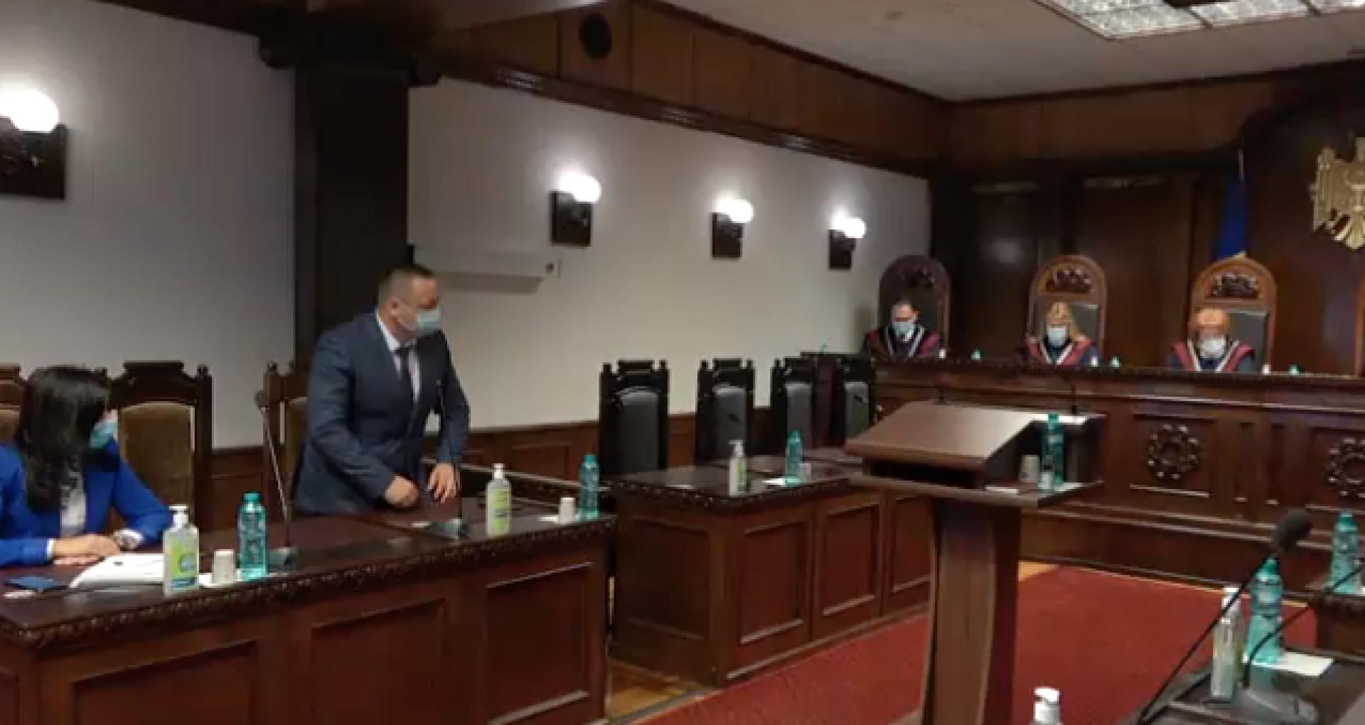 VIDEO/ Curtea Constituțională a validat mandatul unui deputat PAS în Parlamentul R. Moldova