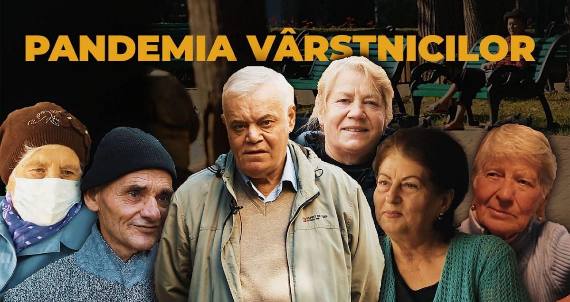 VIDEO/ Pandemia vârstnicilor