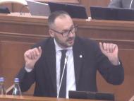 """LIVE/ Ministrul Justiției, despre moțiunea simplă inițiată de BCS: """"Este un terci, falsuri și minciuni"""""""