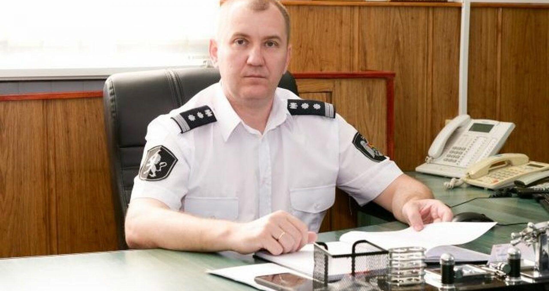 Șeful Inspectoratului de Poliție Soroca, Eugeniu Strochin, a demisionat din funcție