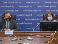 """De la începutul campaniei de vaccinare, rata de vaccinare în rândul populației R. Moldova a atins pragul de 24%: """"Constatăm o stagnare a procesului de vaccinare"""""""