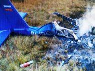 FOTO/ Un avion s-a prăbușit în apropierea orașului Ruza din Rusia: persoanele, care se aflau la bord, au decedat