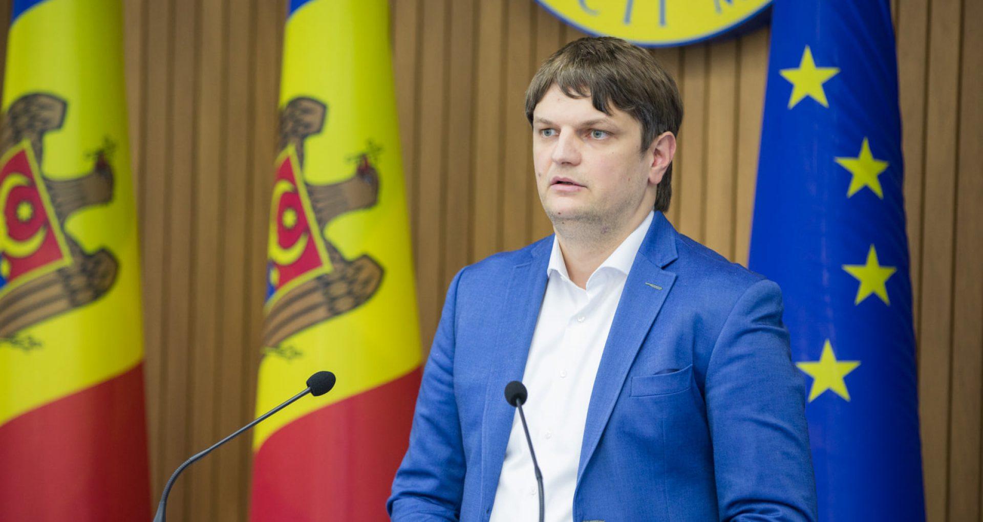 """VIDEO/ Viceprim-ministrul Andrei Spînu, după ședința CSE: """"Anunțăm stare de alertă în sectorul de gaze naturale"""""""