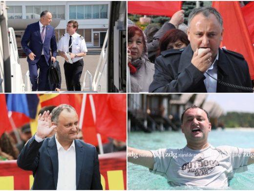 Averea și evoluțiile lui Igor Dodon: de la venirea sa în funcții publice până la abandonarea mandatului de parlamentar