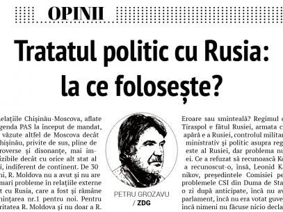 Tratatul politic cu Rusia: la ce folosește?