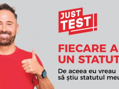 Primește un test HIV gratuit în perioada 15.10 – 30.11
