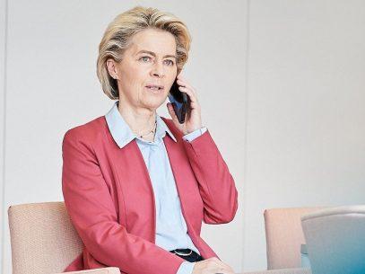 Președinta Comisiei Europene, în discuții cu șefa statului Maia Sandu despre problema aprovizionării cu gaze: UE este alături de Moldova